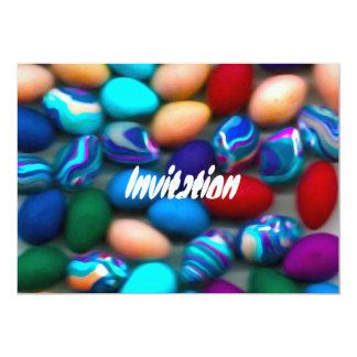 Invitación de los huevos de Pascua