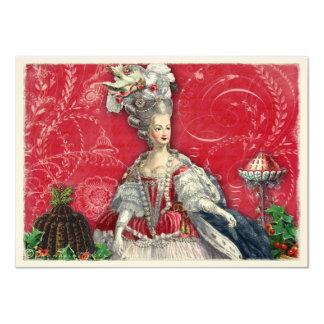 Invitación de los postres del navidad de Marie