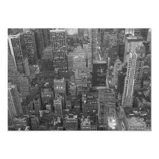 Invitación de los rascacielos de New York City