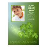 Invitación de los tréboles del día de St Patrick