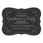 Invitación de lujo del fiesta del graduado del asu