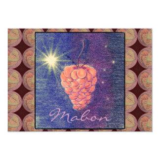 Invitación de Mabon del equinoccio del otoño