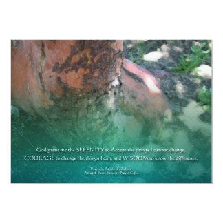 Invitación de Madrone del rezo de la serenidad