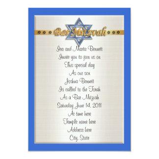 Invitación de Mitvah de la barra