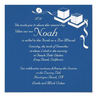 Invitación de Mitzvah de la barra
