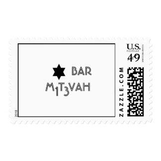 Invitación de Mitzvah de la barra Sello