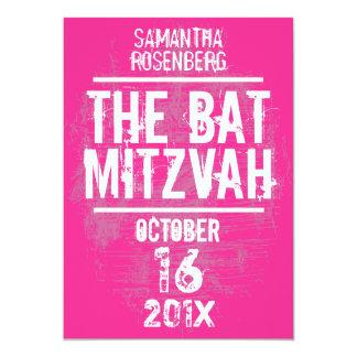 Invitación de Mitzvah del palo de la banda de rock