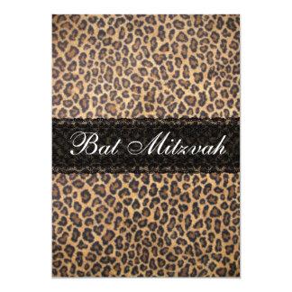 Invitación de moda de Mitzvah del palo de la