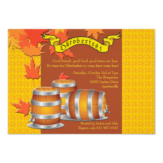 Invitación de Oktoberfest