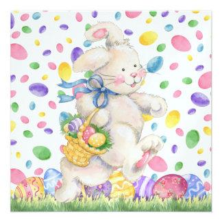 Invitación de Pascua caza - SRF del huevo