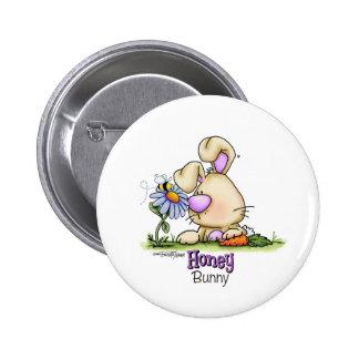 Invitación de Pascua del conejito de la miel Pin