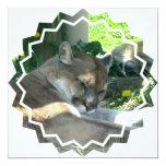 Invitación de reclinación del puma