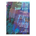 Invitación de señora Liberty Bar Bat Mitzvah de Nu