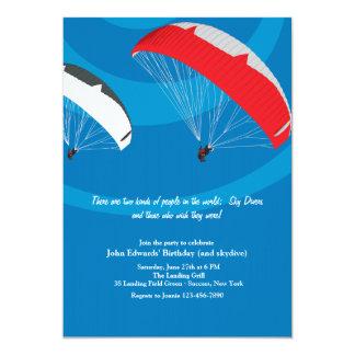 Invitación de Skydiving