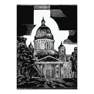 Invitación de ST PETERSBURG de la catedral del St Invitación 12,7 X 17,8 Cm