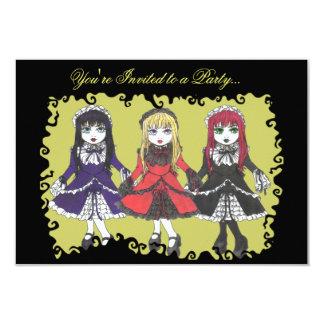 Invitación de tres hermanas