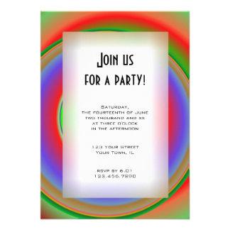 Invitación de uso múltiple del fiesta de la diana