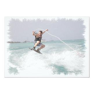 Invitación de Wakeboarding