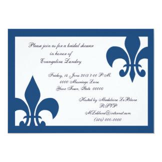 Invitación del acontecimiento de la flor de lis