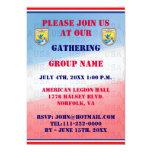 Invitación del acontecimiento del servicio de los