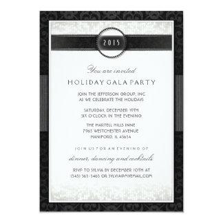 Invitación del acontecimiento Formal Black & White