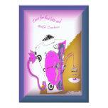 invitación del alumerzo de la dama de honor invitación 12,7 x 17,8 cm