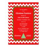 Invitación del alumerzo del navidad -- Chevron