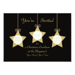 Invitación del alumerzo del navidad -- Estrellas