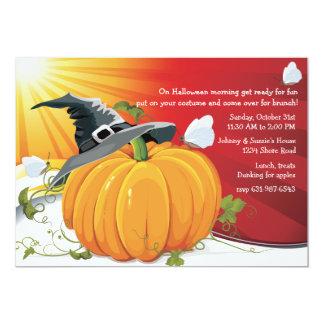 Invitación del amanecer de Halloween