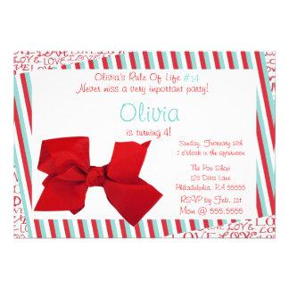 Invitación del amor de Olivia