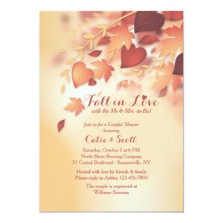 Invitación del amor del otoño