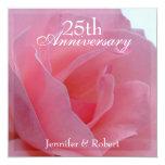 Invitación del aniversario de boda invitación 13,3 cm x 13,3cm