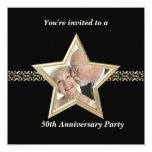 Invitación del aniversario de boda del