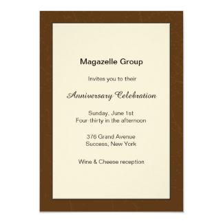 Invitación del aniversario del mérito del negocio