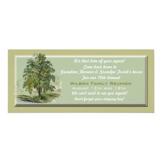Invitación del árbol de familia