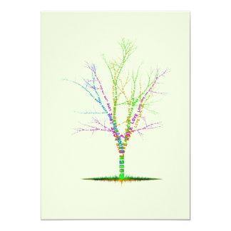 Invitación del árbol de la palabra, amor ideal de