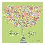 Invitación del árbol del círculo del boda de la ce