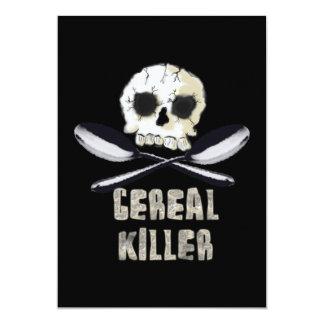 Invitación del asesino del cereal