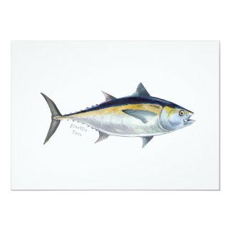 Invitación del atún de Blackfin