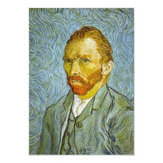 """Invitación del """"autorretrato"""" de Van Gogh"""