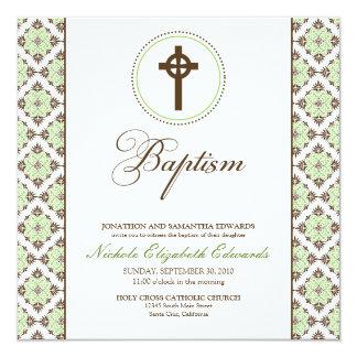 Invitación del bautismo de la tolerancia del