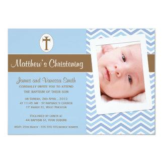 Invitación del bautismo del bautizo de los