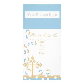 invitación del bautismo tarjetas personales