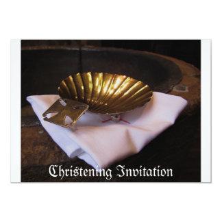 Invitación del bautizo