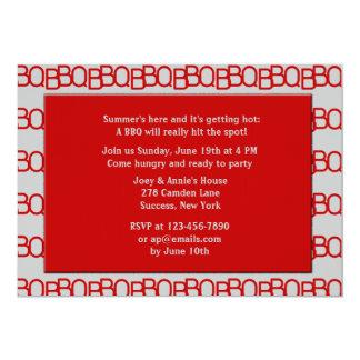 Invitación del Bbq