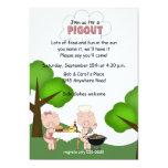 Invitación del Bbq Pigout