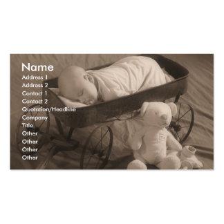 Invitación del bebé o negocio del niño tarjetas de visita