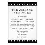 Invitación del boda con un tema de la película de