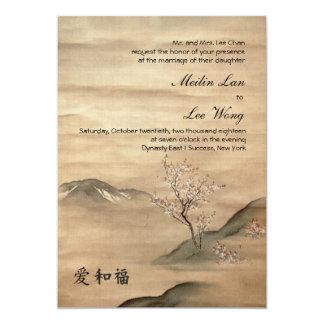 Invitación del boda de Asiana
