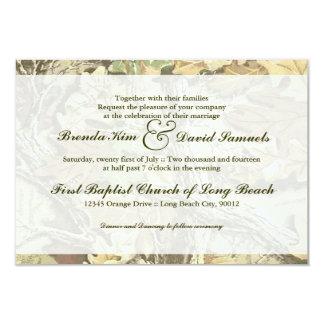 Invitación del boda de Camo